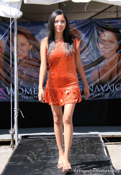 Women of the Navajo Unveiling Calendar Fashion Show