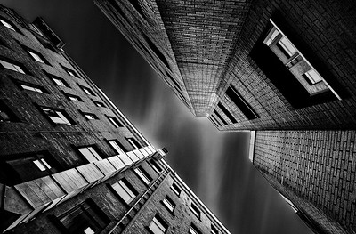 Looking up, Glasgow, Scotland