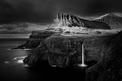 Shades of Gasadalur, Faroe islands