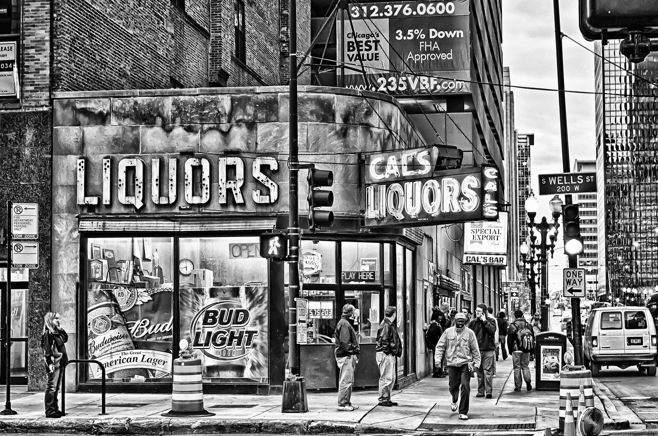 Cal's Liquors, Downtown Chicago, IL