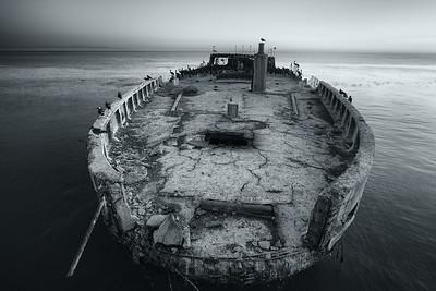 Concrete Ship, Aptos, CA