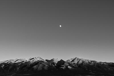 Moonrise over Sangre de Cristo Mountains (2018)