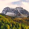 Le Touno et les Mélèze en automne