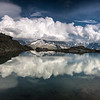 Miroir dur le lac blanc, Chamonix