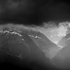 Gros grain sur la vallée de Chamonix