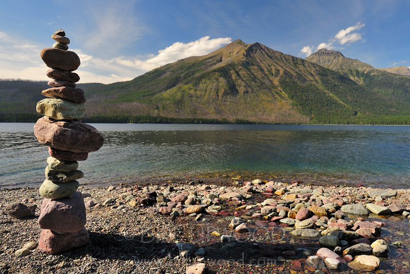 Cairn and Lake McDonald