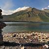 Cairn and Lake McDonald
