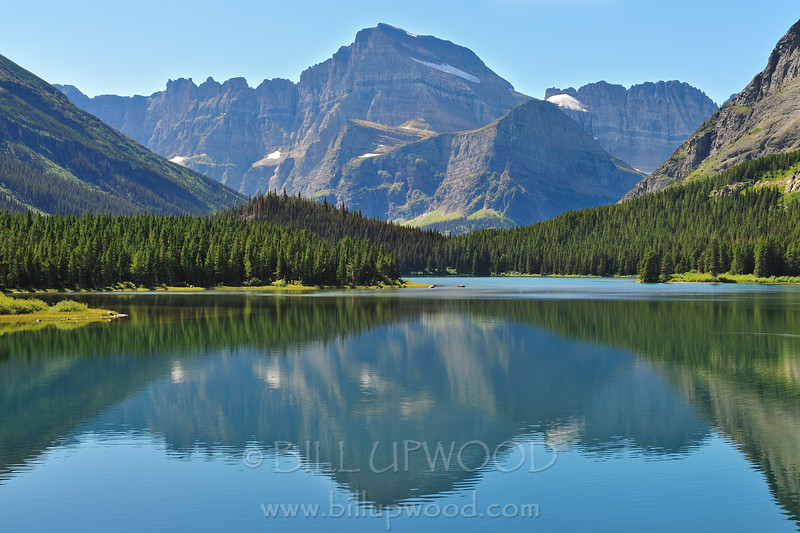 Reflections on Swiftcurrent Lake