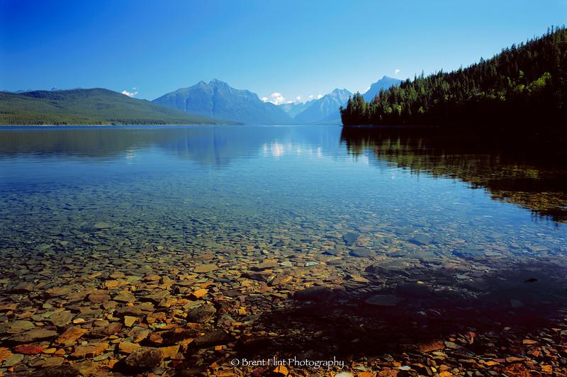 S.4442 - McDonald Lake, Glacier National Park, MT.