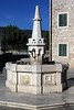 Karaca Water Spring - the natural spring where today the stone sculpted fountain is located, here at Herceg Stjepana Square, known to locals as, Bella Vista (Nice View) - Herceg Novi town.