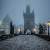 Foggy Morning, Prague