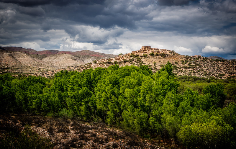 Tuzigoot on the Hill