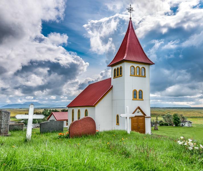 Oddi Church, South Iceland