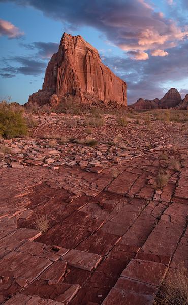 Tesselated Rock