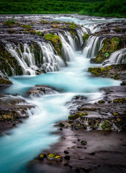 Glacial Water of Bruarfoss