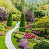 Butchart Garden Walk