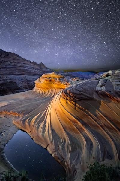 Stars and Swirls
