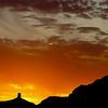 Chimney Rock Sunset