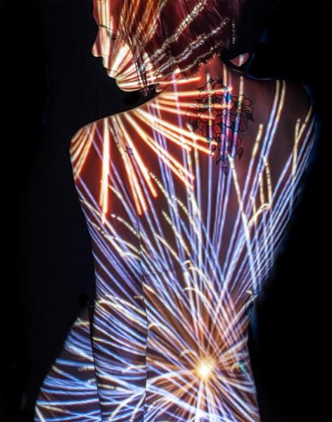 Zofia with Fireworks