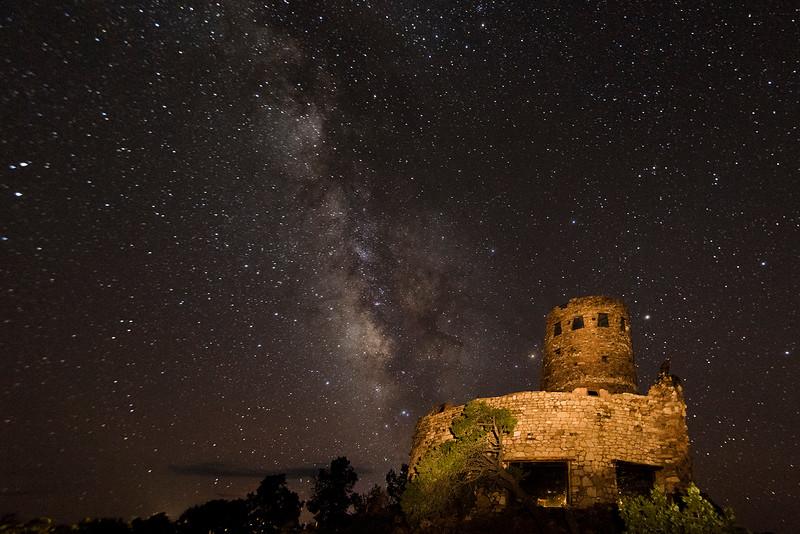 Milky Way Sky at Desert View