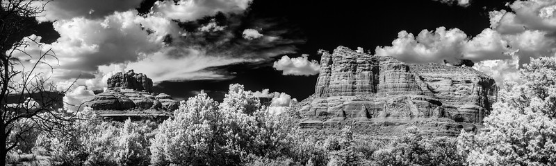 Bell Rock in IR