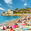 Cassis Beach Scene