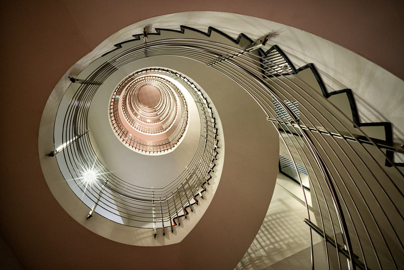 Looking Up The Down Staircase