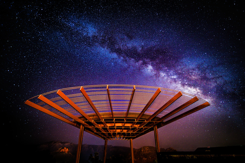Milky Way Over Posse Grounds