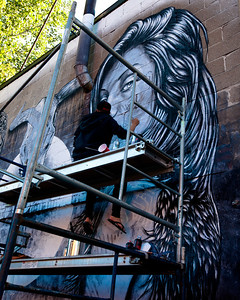 Mural by Christina Angelina