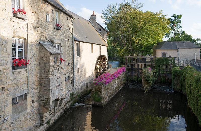 Water Wheel in Bayeux