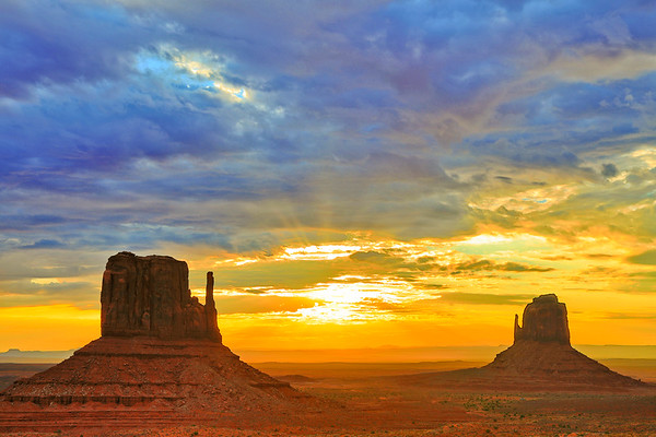 Item# 4862- Valley Sunrise