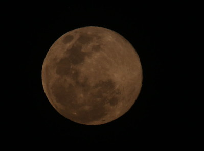 """Pink Supermoon"" 7 de abril, 2020 en San Jose, Costa Rica -ESPECTACULAR!"