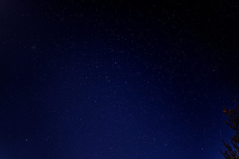 Night Sky in Back Garden (10pm 22 April 2021)