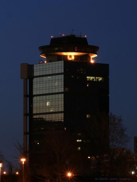 Rochester Moonrise, April 22, 2009