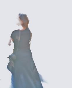 woman at corner