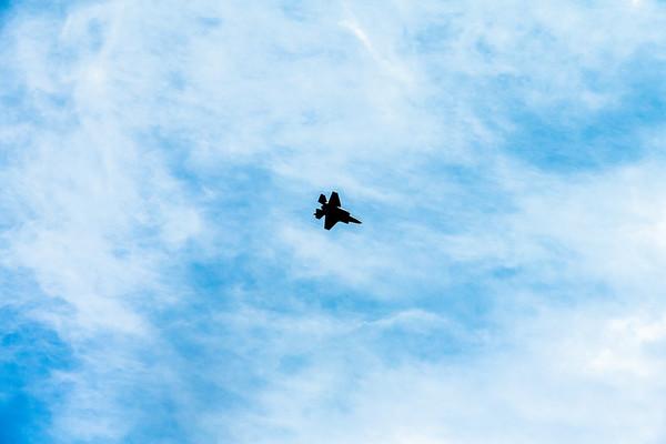 April 8, 2021: F-35, Nellis AFB, Nevada