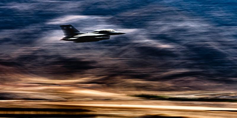 April 8, 2021: F-16, Nellis AFB, Nevada
