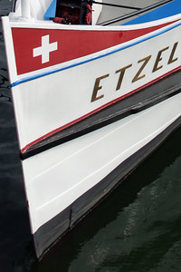 Swiss boat.