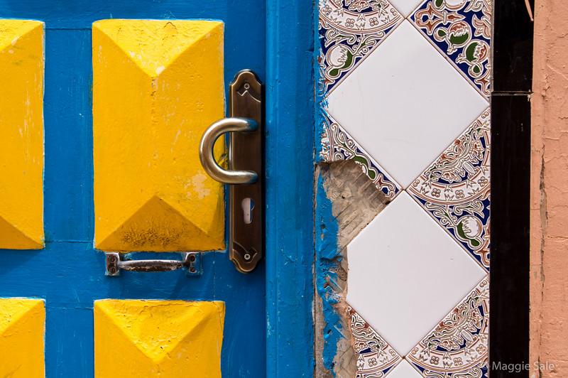 Door in Boumalne Dades.