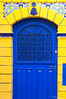 Blue door in Essaouira.