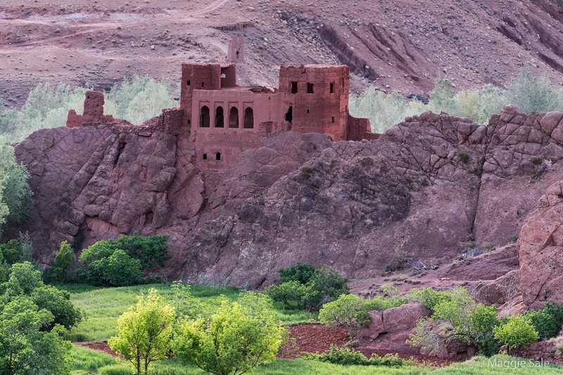 A Kasbah in the Dades Valley, en route to Dades Gorge.