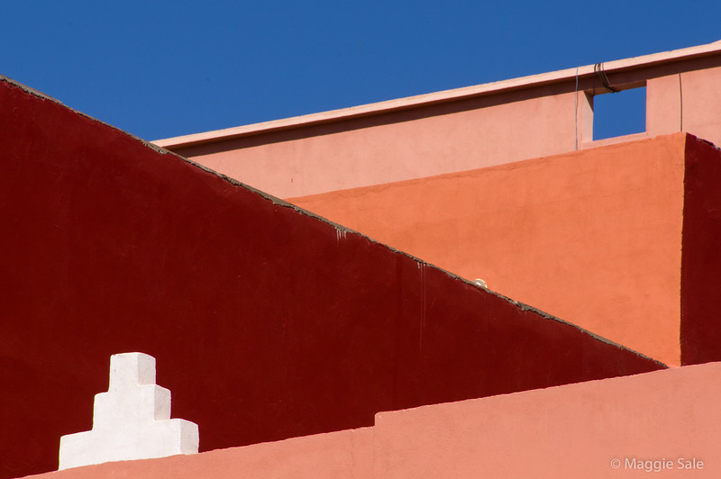 Colour and shapes in Tinerhib, near Todra Gorge.