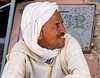 Berber in Rissani souk in eastern Morocco near the Erg Chebbi desert dunes.