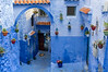 Doorways in Chefchaouen.