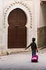 In Fez souk.