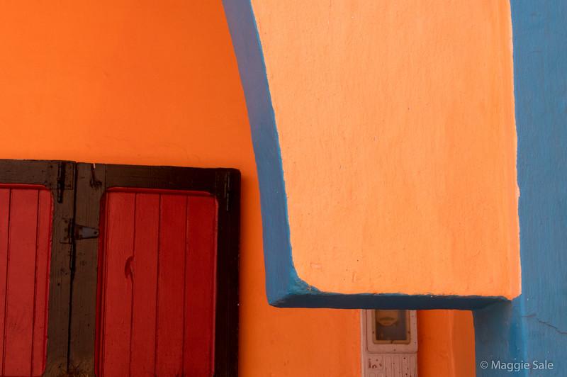 More balcony colour in Essaouira.