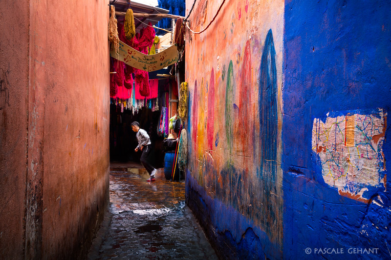 Colors in the alley