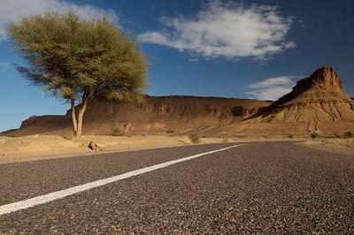 Ouarzazate to Merzouga road