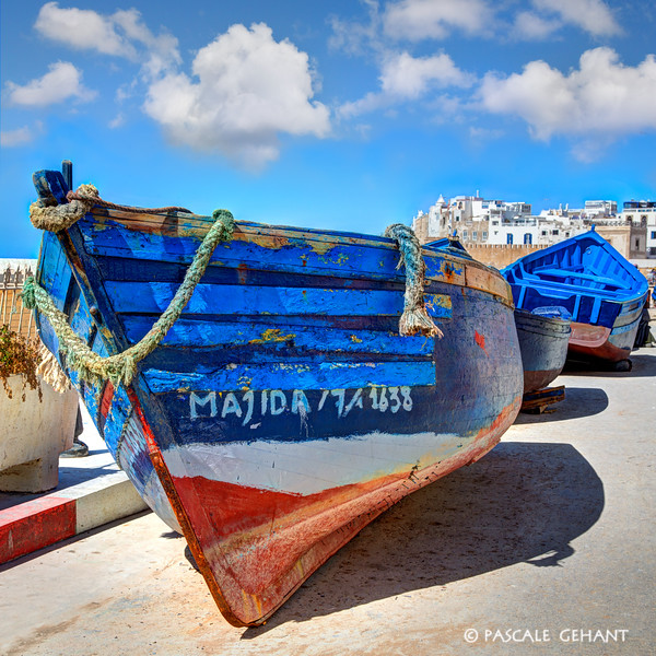 Fishing boat of Essaouira