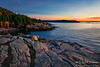 Sunrise on Pink Granite